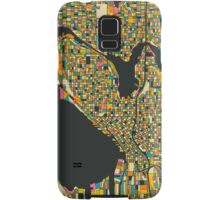 SEATTLE MAP Samsung Galaxy Case/Skin