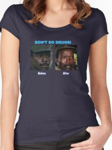 Don't Do Drugs Women's Fitted Scoop T-Shirt