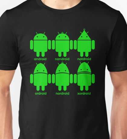 Logically, these are the droids you're looking for Unisex T-Shirt