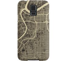 KANSAS CITY MAP Samsung Galaxy Case/Skin