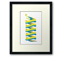 Ribbon Eel Framed Print