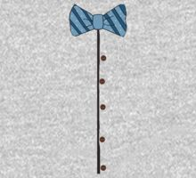 Funny Retro bow tie & buttons  by bardenne