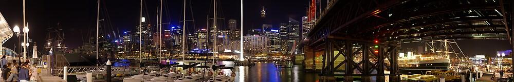Darling Harbour, Sydney, Australia by Clayton Haynes