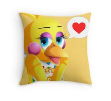 Toy Chica Throw Pillow