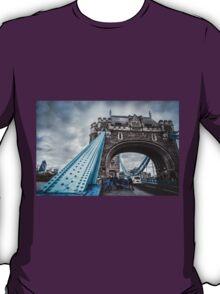 At the Foot of Tower Bridge T-Shirt