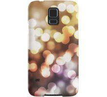 Abstract yellow wallpaper Samsung Galaxy Case/Skin