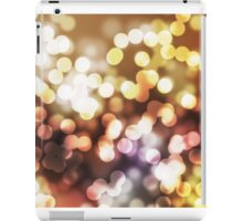 Abstract yellow wallpaper iPad Case/Skin