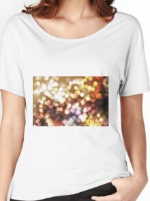Abstract yellow wallpaper Women's Relaxed Fit T-Shirt