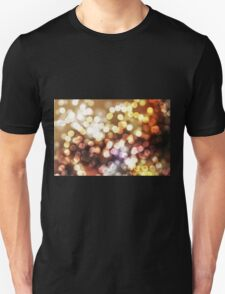 Abstract yellow wallpaper Unisex T-Shirt