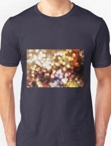 Abstract yellow wallpaper Unisex T-Shirt