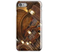 Inside Saint Matthew's Cathedral -- At An Angle iPhone Case/Skin