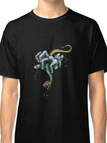 Snake vs hand Classic T-Shirt