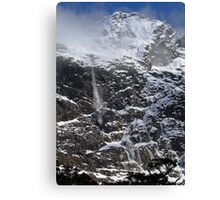 New Zealand Avalanche Canvas Print