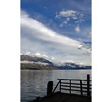 Kinloch Lodge Dock Photographic Print