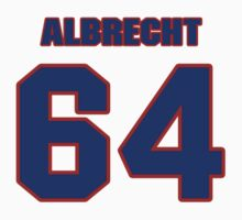 National football player Ted Albrecht jersey 64 by imsport