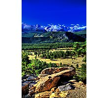 Overlooking Moraine Park Photographic Print