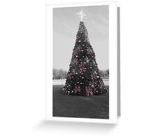 Vintage Inspired Christmas Tree Greeting Card