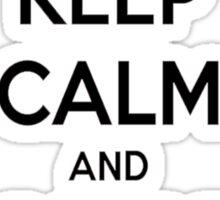 Toqger Keep Calm and Tokkyu Change 1 Sticker