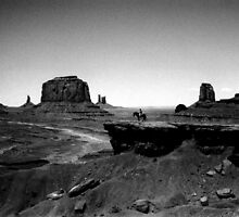 Lone Cowboy by Darren Newbery