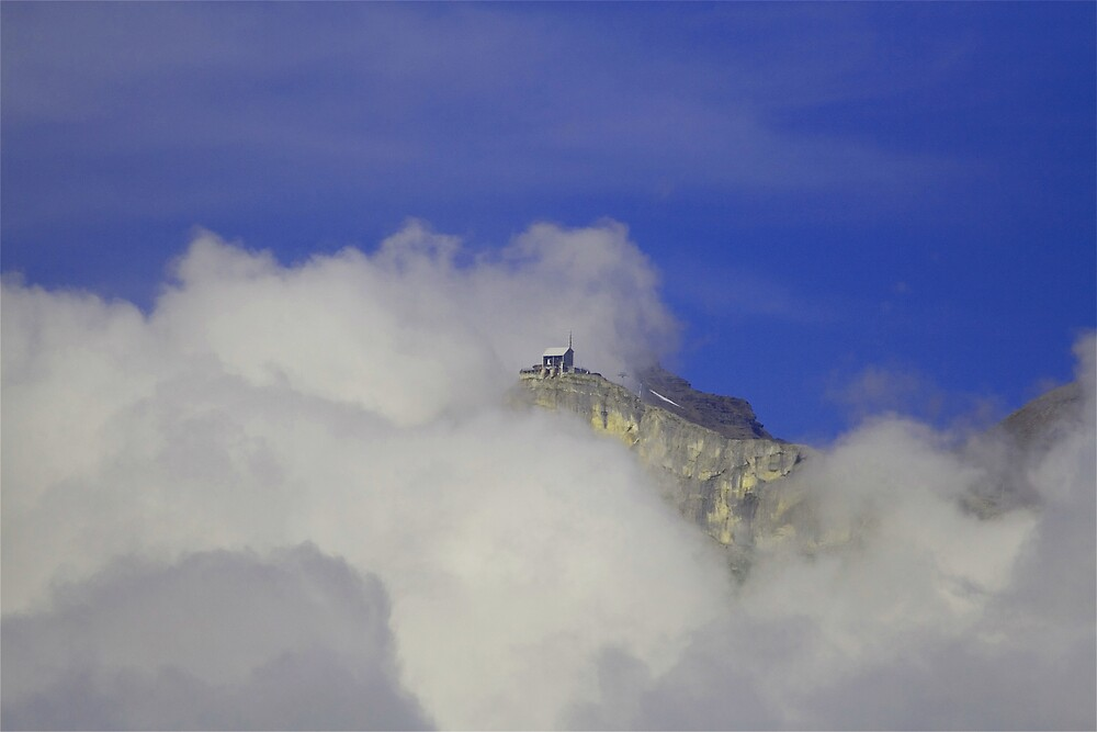 Castle On A Cloud by Michael  Newman