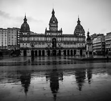 Plaza de María Pita - A Coruña by danivazquez