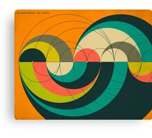 GOLDNER HARARY ARC GRAPH Canvas Print