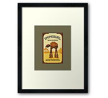 Walk like an Egyptian Framed Print