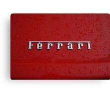 Red - Ferrari Canvas Print