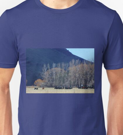 Winter in the Mountains Unisex T-Shirt