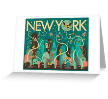 WILD NEW YORK Greeting Card