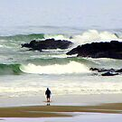 The Awesome...Yachats, Oregon  by Diane Arndt