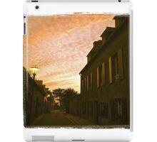 Le Conquet, rue Clemenceau. iPad Case/Skin