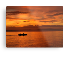 Philippine Sunset 1 Metal Print