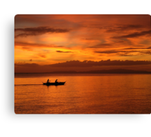 Philippine Sunset 1 Canvas Print