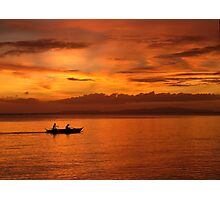 Philippine Sunset 1 Photographic Print