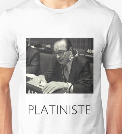 Chirac platiniste Unisex T-Shirt