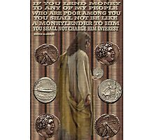 ☝ ☞ ROMAN ASSARIAN BIBLICAL COINS WITH SCRIPTURE☝ ☞  Photographic Print