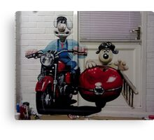 Wallace & Grommit Canvas Print