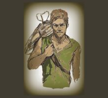 Daryl Dixon The Walking Dead by NicoleJadeArt