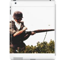 Soldier from WW2 iPad Case/Skin