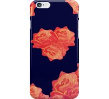 Chinoiserie Red Roses Vintage floral print iPhone Case/Skin