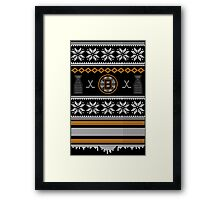 Ugly Boston Sweater Framed Print