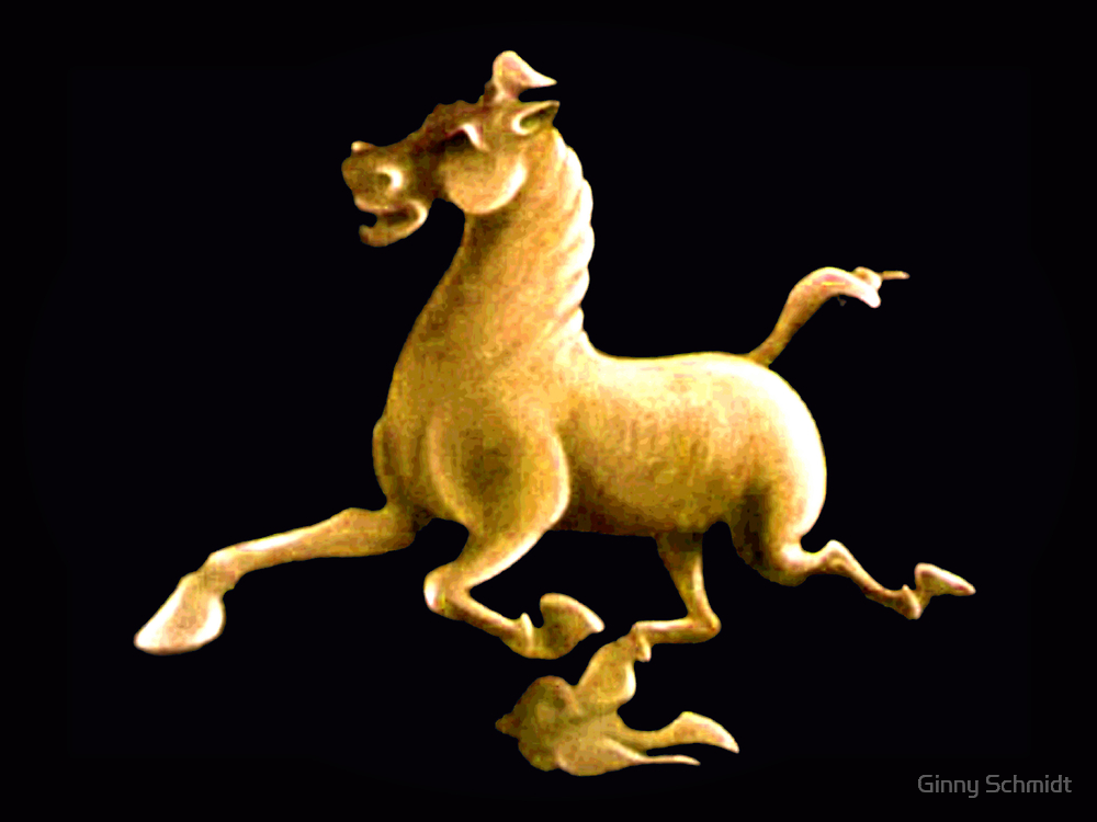 Flying Horse by Ginny Schmidt