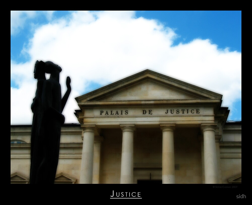 Justice by Sophie Cagnac