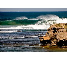 Curling Waves Photographic Print