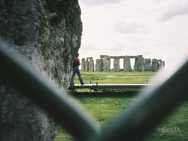HEEL Watching Her Henge by HELUA