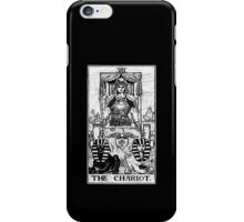The Chariot Tarot Card - Major Arcana - fortune telling - occult iPhone Case/Skin
