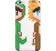 Pixel Amazingphil and Danisnotonfire iPhone Case/Skin