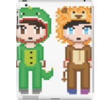 Pixel Amazingphil and Danisnotonfire iPad Case/Skin