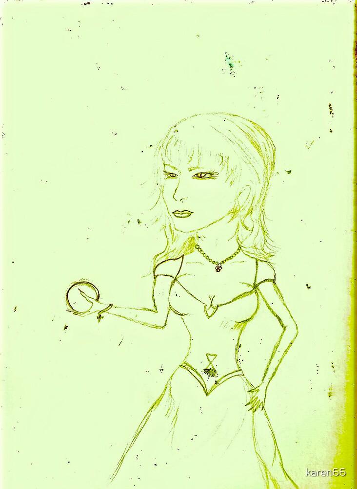 Portrait Of Princess Aurora by karen66